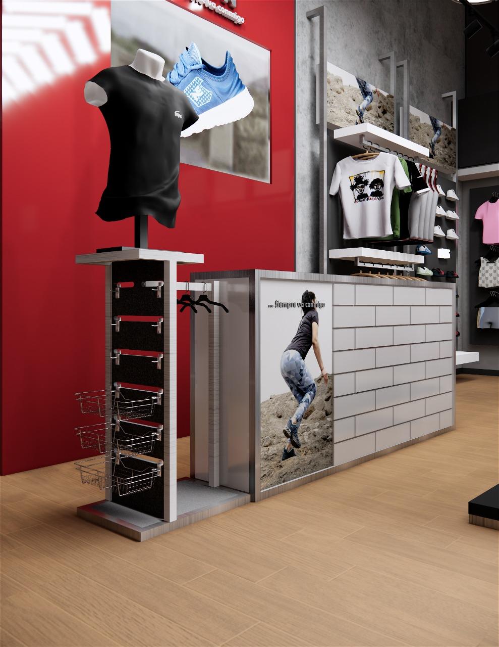 Equipamiento tienda I-RUN