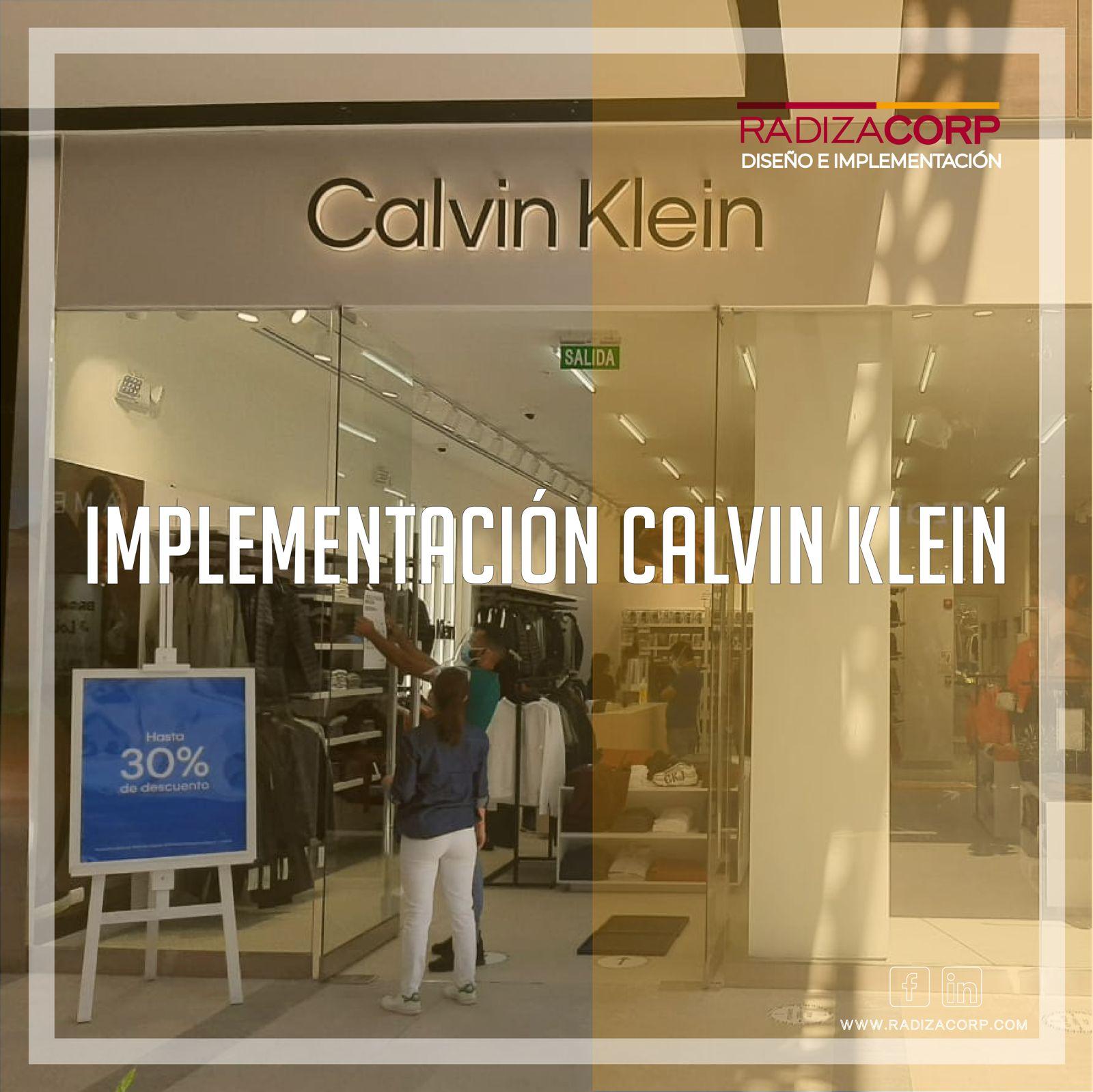 Implementación tienda Calvin Klein