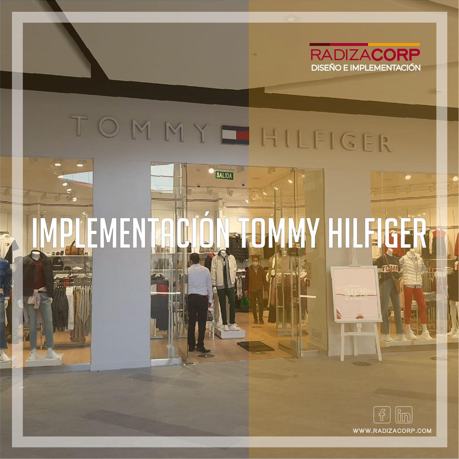 Implementación tienda Tommy Hilfiger